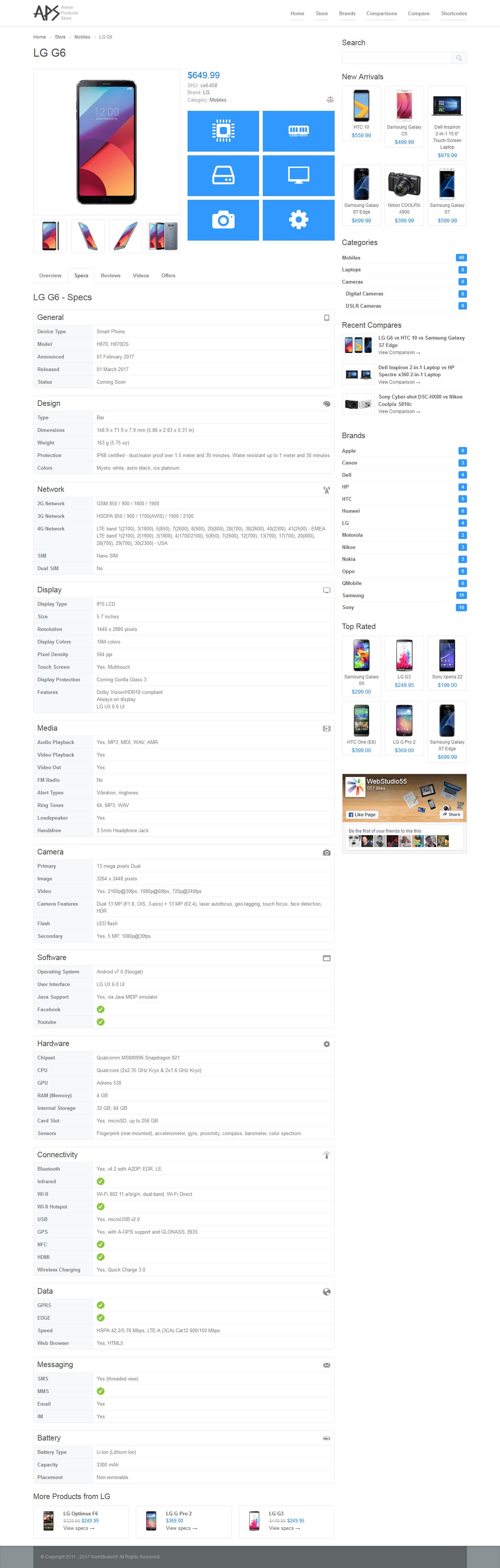arena products store wordpress plugin by anjum codecanyon