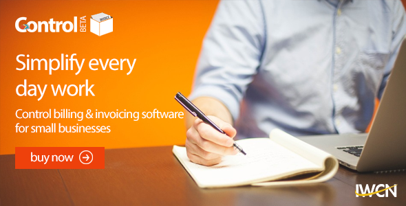 Control Invoicing & Billing Software - CodeCanyon Item for Sale