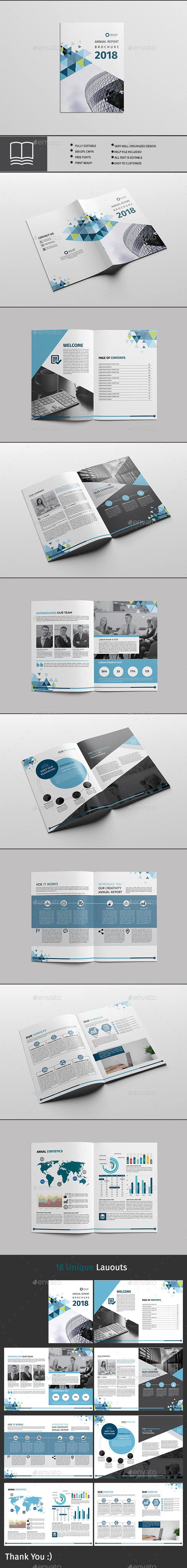 GraphicRiver Annual Report 20333449