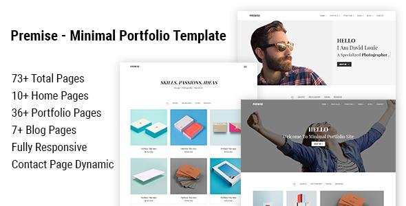 Premise - Minimal Portfolio Template