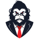 Gorilla Suit Logo - GraphicRiver Item for Sale