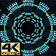 Space Techology Tunnel Loop Background 4K Ultra HD