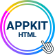 Appkit - Customizable App Landing Page - 100% Responsive & Cross-Browser