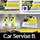 Car Service Advertising Bundle - GraphicRiver Item for Sale