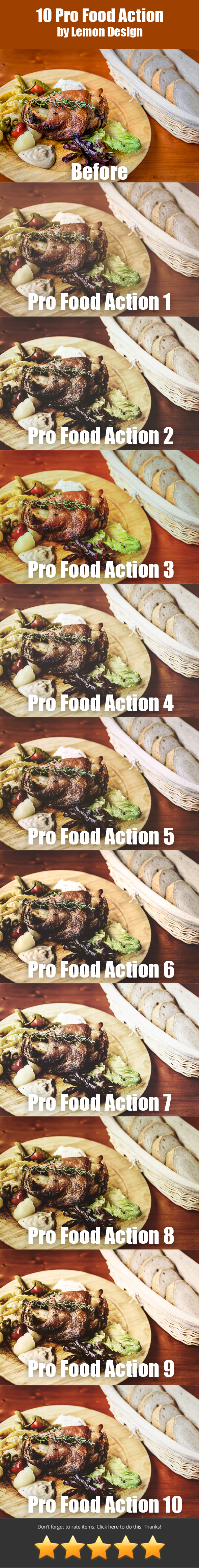 GraphicRiver 10 Pro Food Action 20333899