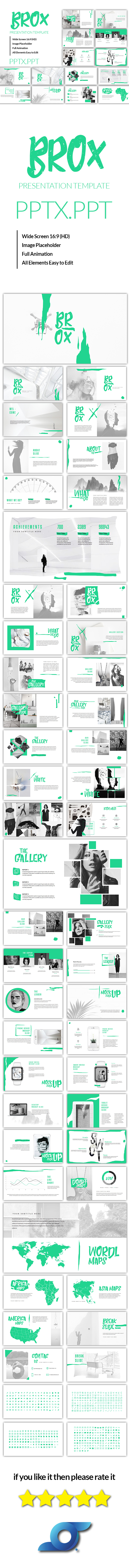 Brox - Creative Powerpoint Template - Creative PowerPoint Templates