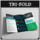 Corporate Marketing Firm Pro Tri-Fold Brochure V05