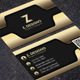 Luxury Golden Business Card