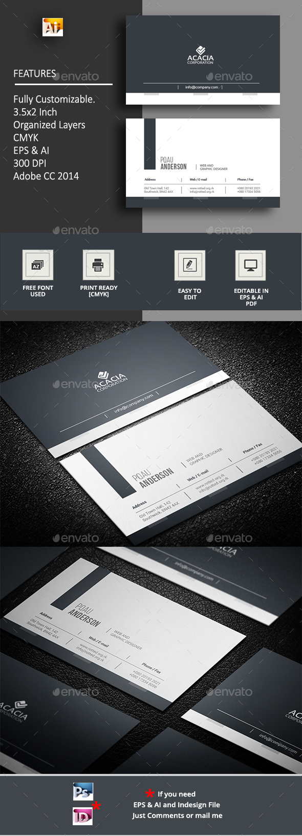 Hrid Business Card - Corporate Business Cards