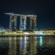 Singapore Night Lightshow Marina Bay Ships - VideoHive Item for Sale