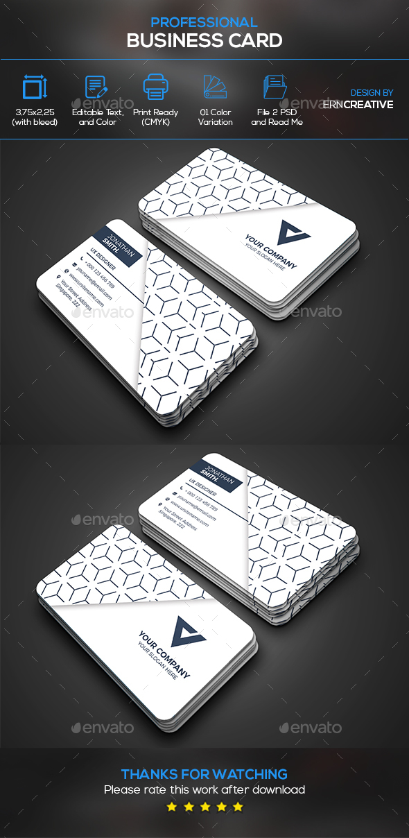Business card templates designs from graphicriver page 35 reheart Choice Image