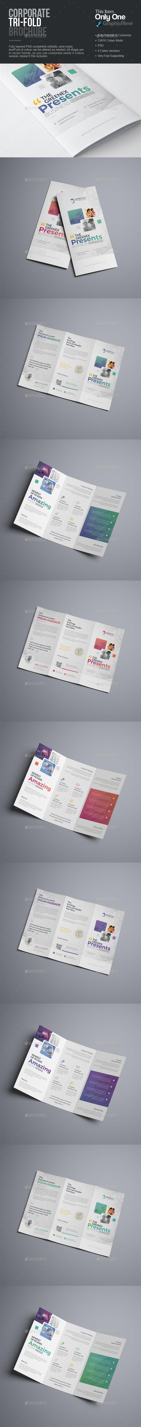 GraphicRiver Tri-Fold Brochure 20335216