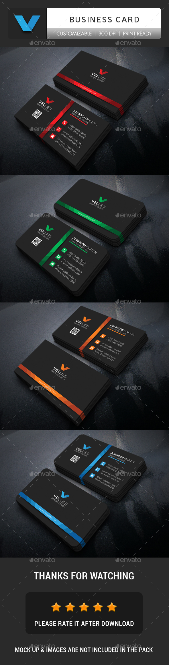 GraphicRiver Business Card 20335377