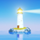 Cartoon Light House  - VideoHive Item for Sale