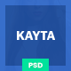 Kayta Ecommerce PSD Template Nulled