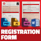 Registration Form - GraphicRiver Item for Sale