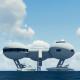 Futuristic City Ocean - VideoHive Item for Sale