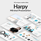 Harpy Minimal Powerpoint Template - GraphicRiver Item for Sale