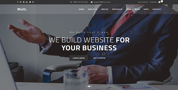 Multi - Onepage Business Template