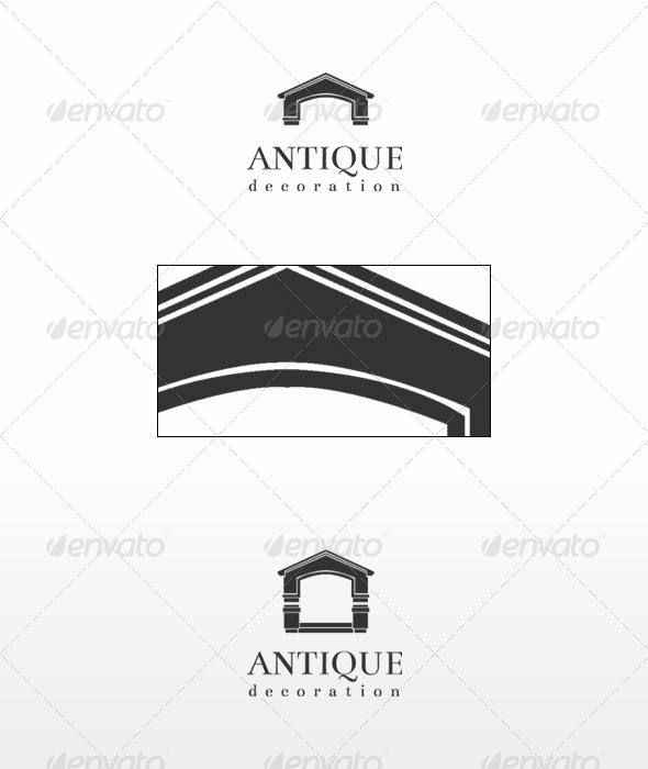 Antique - Buildings Logo Templates