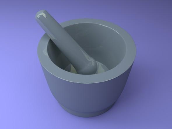 3DOcean Mortar pounder 20336362