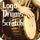 Drums Logo Scratch
