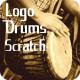 Drums Logo Scratch - AudioJungle Item for Sale