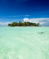 Tropical uninhabited island in the Pacific - PhotoDune Item for Sale