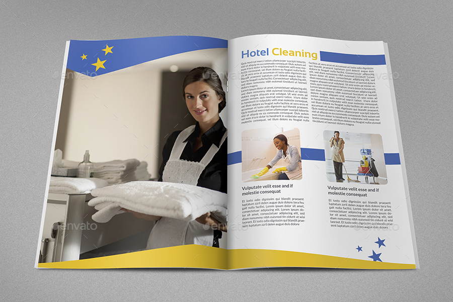 cleaning service brochure templates - cleaning services advertising bundle vol 4 by owpictures