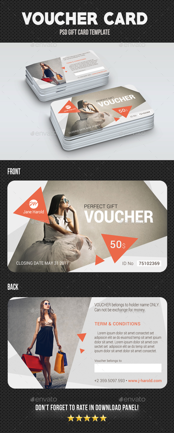GraphicRiver Voucher Card 04 20336791