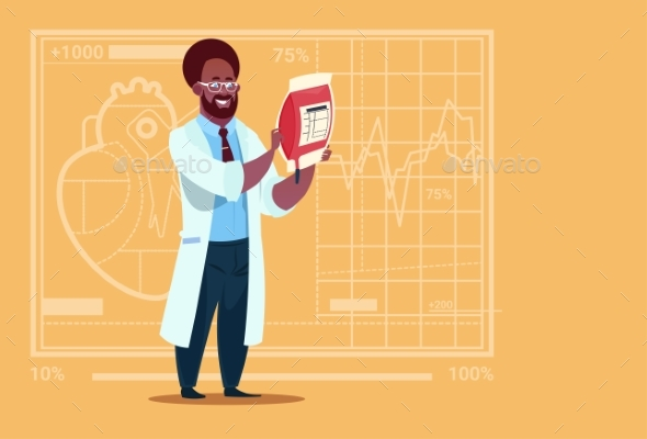GraphicRiver Doctor Holding Blood Bag Donor 20337133