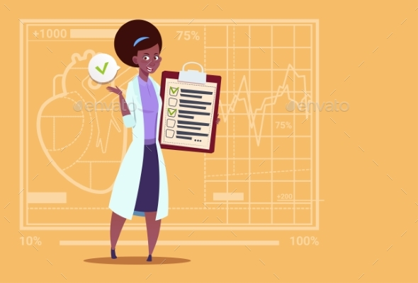 GraphicRiver Doctor Holding Clipboard 20337243
