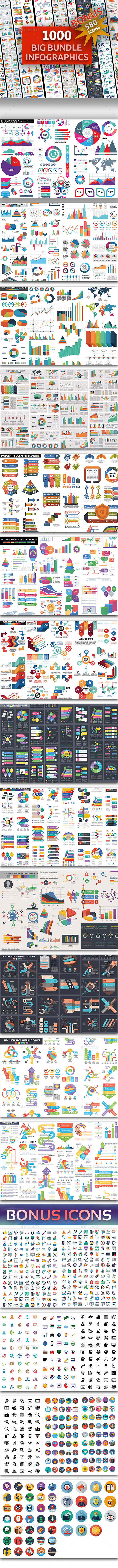 Big Bundle Infographics Elements - Infographics