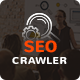 SEO Crawler - Digital Marketing Agency, Social Media, SEO WordPress Theme Nulled