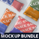 Snack Foil Bag Mockup Bundle - GraphicRiver Item for Sale