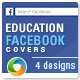 Education Facebook Covers - 4 Designs