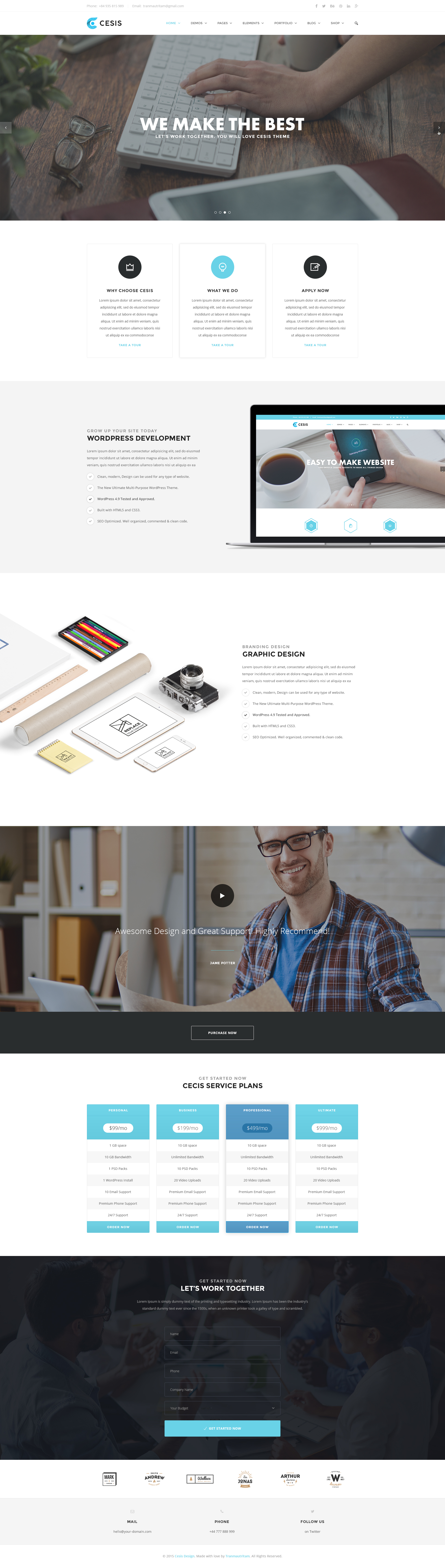 Cesis Ultimate MultiPurpose PSD Template By Tranmautritam - Awesome the ultimate listing presentation concept