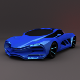 Lada Raven 3D  low poly car - 3DOcean Item for Sale