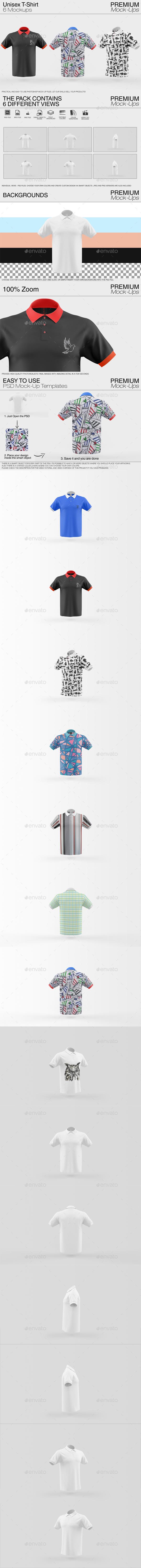 Shirt Mockup Pack - Print Product Mock-Ups