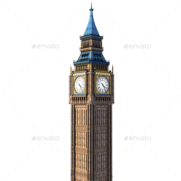Big Ben - Architecture 3D Renders