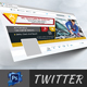 Automobile Twitter Cover - GraphicRiver Item for Sale