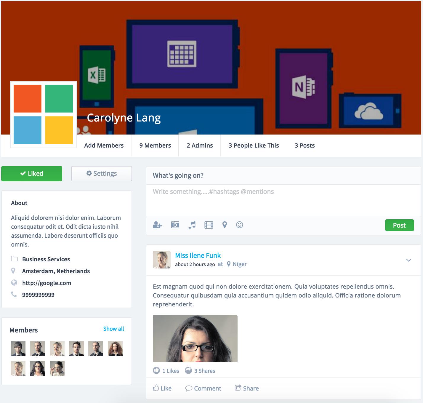 Socialite - Laravel Social Network Script