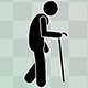Stick Figure Disabled People - VideoHive Item for Sale