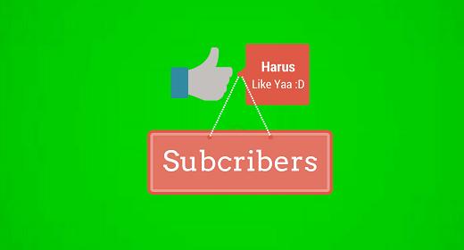 Like And Subcriber