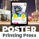 Printing Press Poster Template