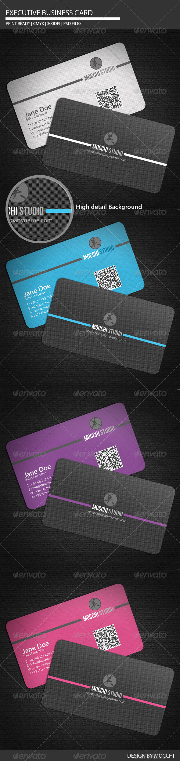 Executive Business Card - Corporate Business Cards