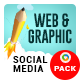 Web and Graphic Social Media Pack