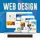 Web Design Sliders - 3 Color Variations