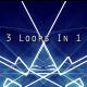 Digital Neon Technology Grid Pack 3 In 1 Loops