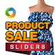 Product Sale Sliders - 2 Designs